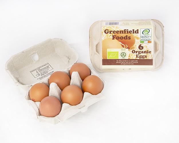 Green Field Foods organic eggs